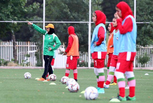 دعوت دو بانوی فوتبالیست آذربایجان شرقی به اردوی تیم ملی