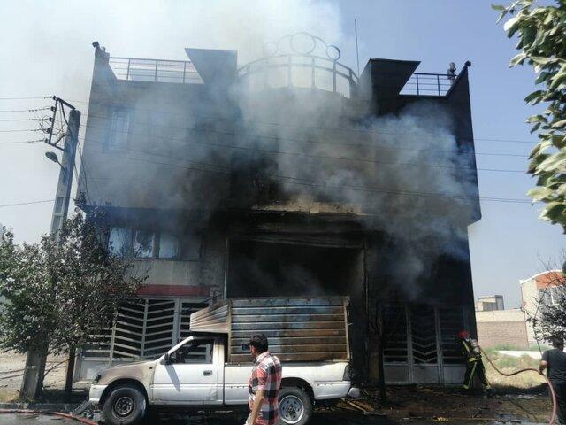 جزییات آتش سوزی کارگاه چاپ در سردرود