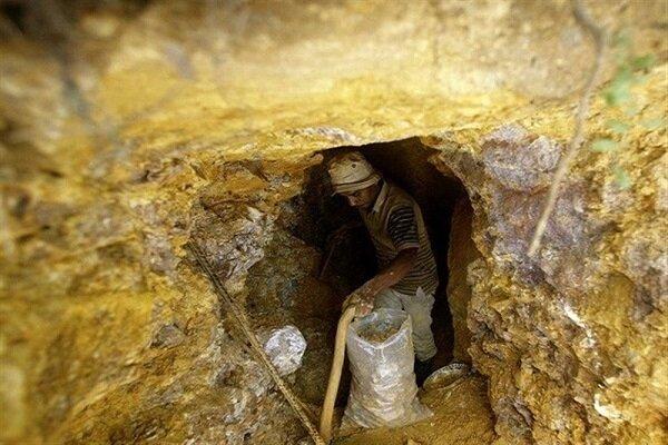 برداشت غیرمجاز از معدن طلای اندریان