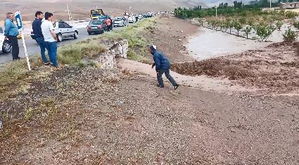 خسارت سیل و تگرگ به ۱۱ روستای شهرستان اهر