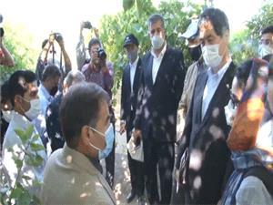 بازديد سفير ژاپن از طرحهاي احياي درياچه اورميه