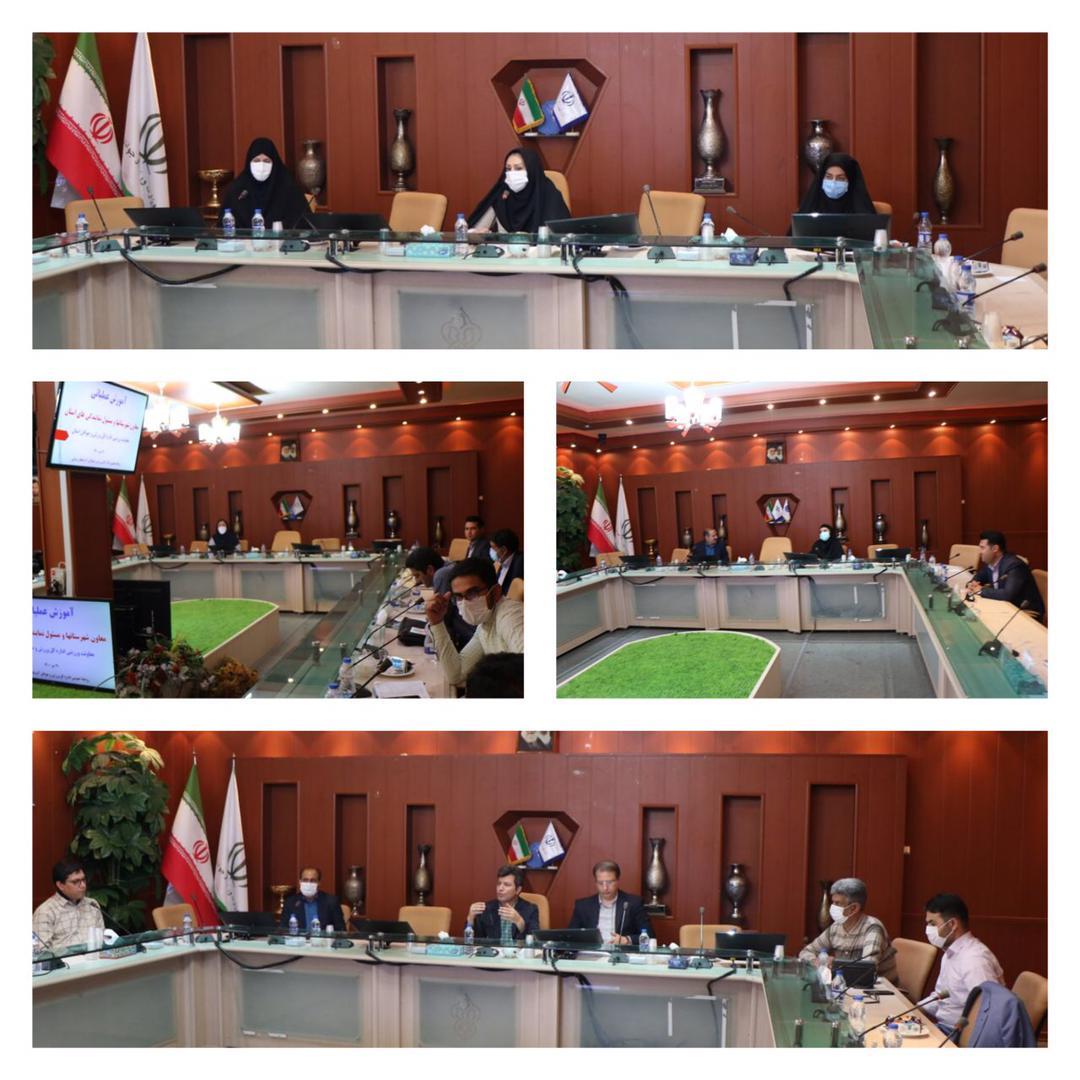 کارگاههای آموزش عملیاتی معاون ادارات و مسئول نمایندگی بخشهای استان برگزار شد