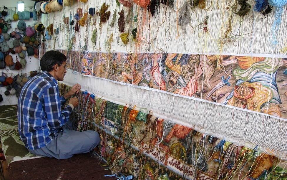 خانه تابلوفرش در سردرود تبریز ایجاد میشود