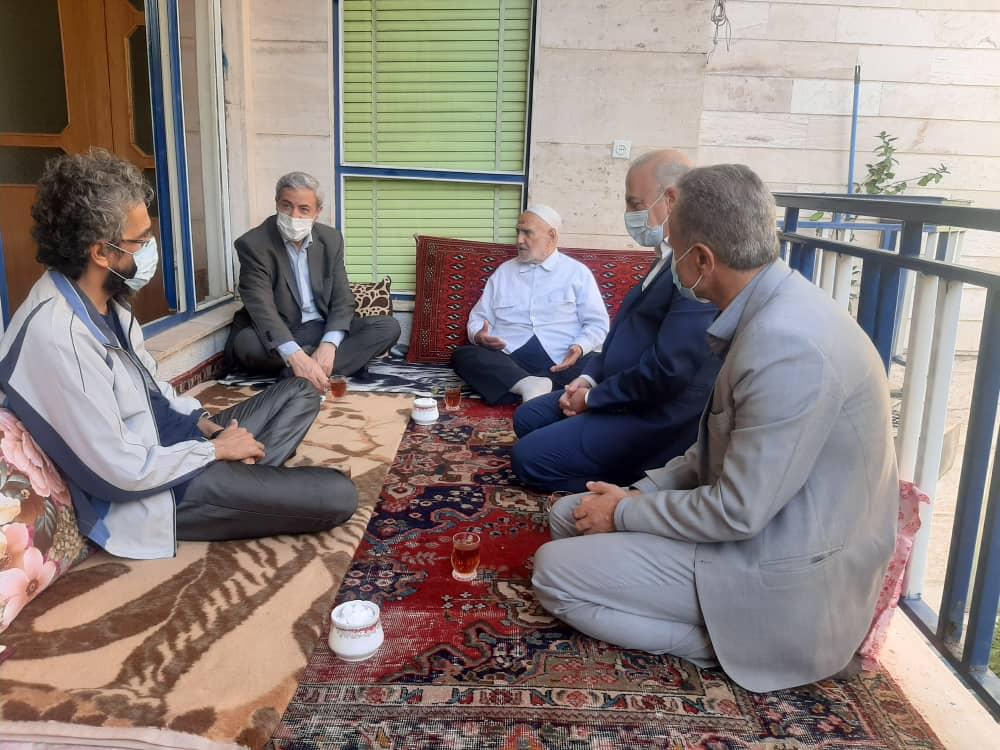 دیدار مدیرکل فرهنگ و ارشاد اسلامی با استاد کریمی مراغه ای