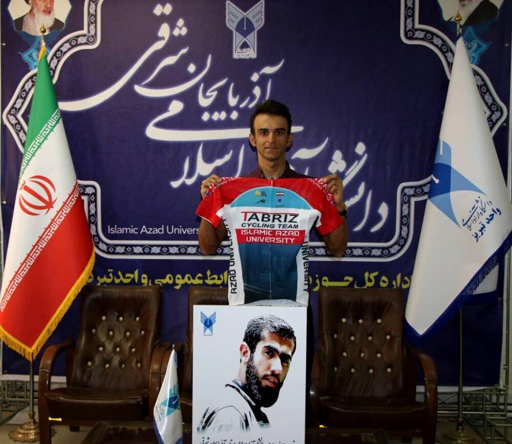 عضو تیم دوچرخهسواری دانشگاه آزاد اسلامی تبریز راهی المپیک ۲۰۲۱ شد