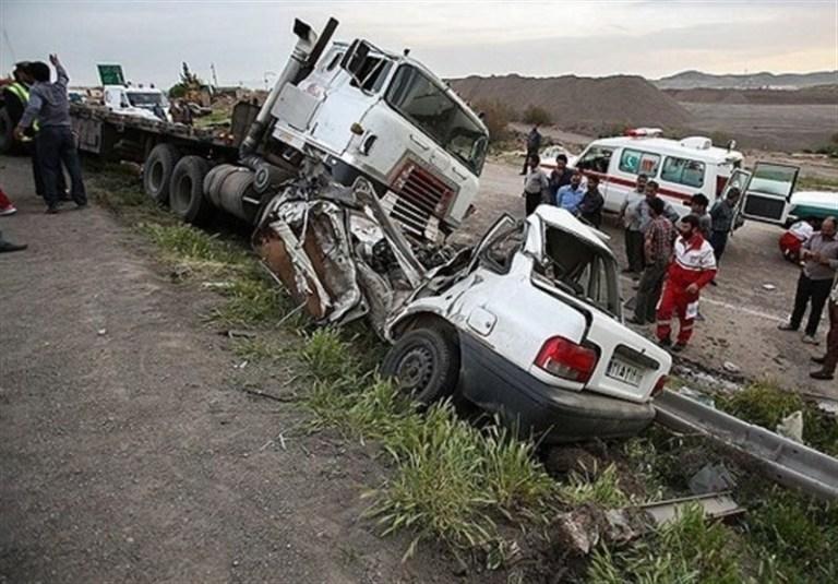 افزایش ۱۴ درصدی آمار جانباختگان تصادفات رانندگی در استان
