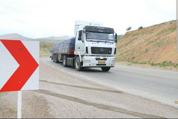 ناوگان باری آذربایجانشرقی ۷ میلیون تن بار حمل کرد