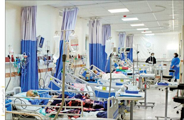مرگهای کرونایی باز هم رکورد زد/ ۵۸۸ نفر جان خود را از دست دادند