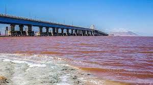 سطح تراز دریاچه ارومیه ۶۰ درصد کاهش یافت