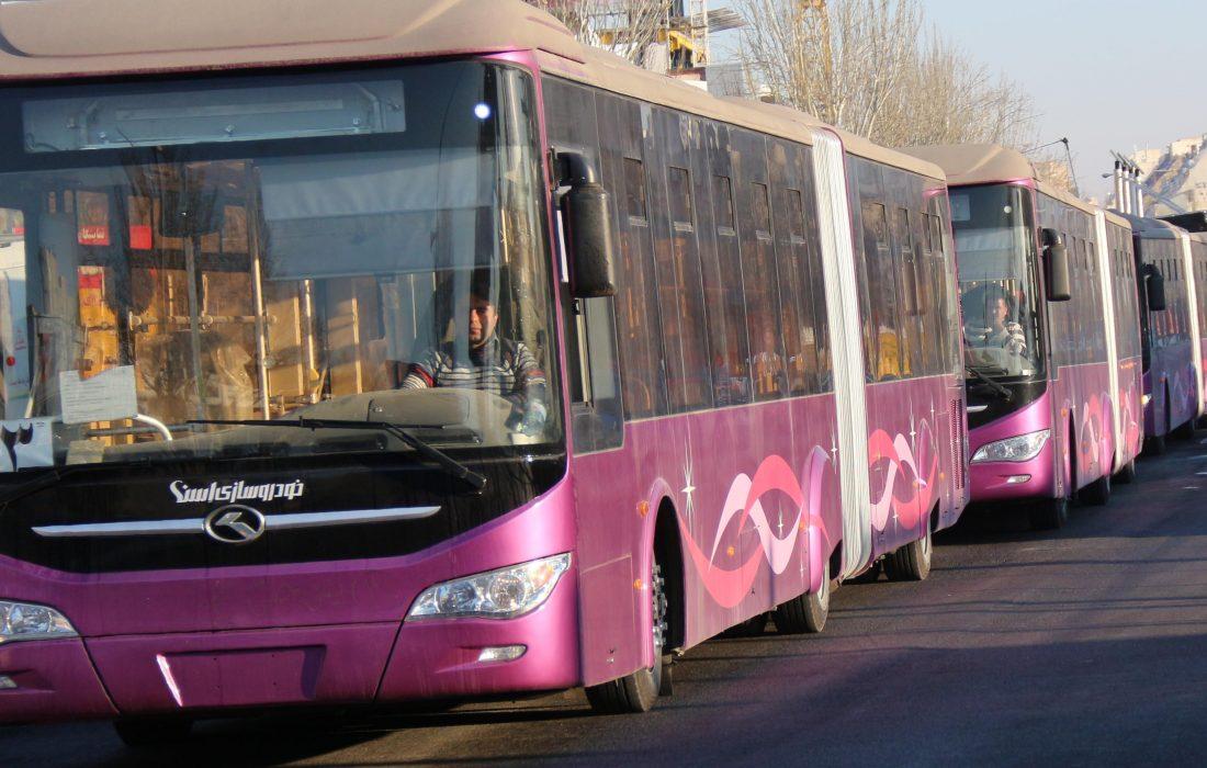 تبریز به ۱۲۰۰ دستگاه اتوبوس نیاز دارد