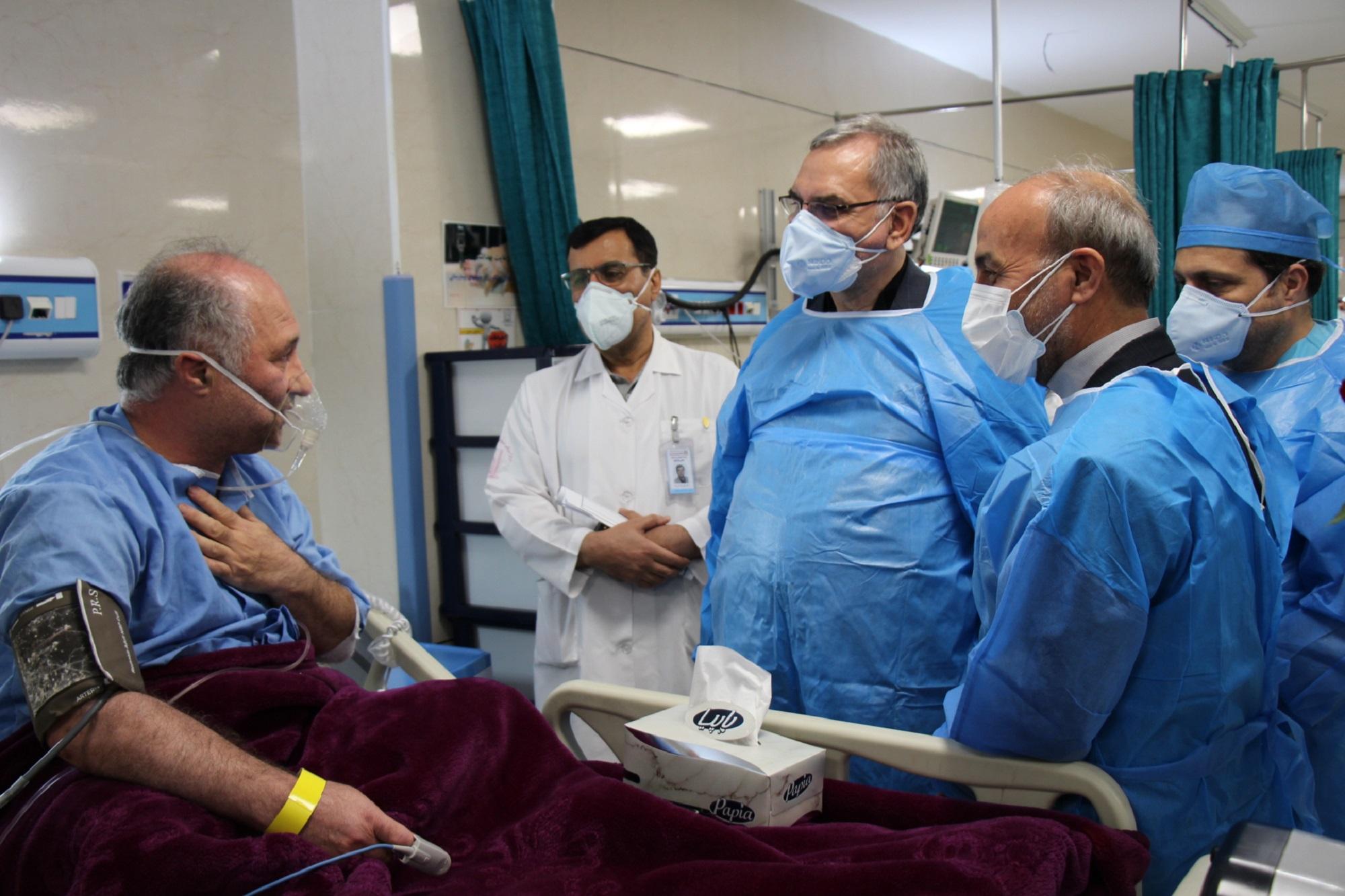 گزارش تصویری حضور وزیر بهداشت در تبریز
