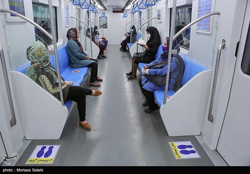 کرونا مسافران مترو تبریز را کاهش داد