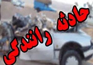 سانحه رانندگی در اتوبان پاسداران تبریز، ۵ مصدوم برجای گذاشت