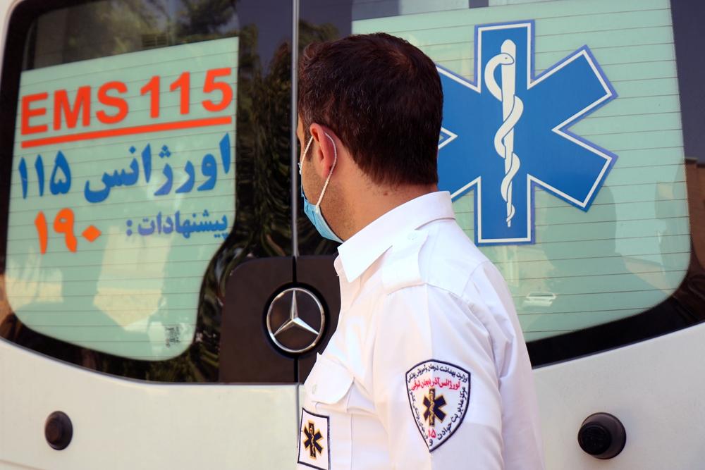 اورژانس مدافعان سلامت بی ادعا