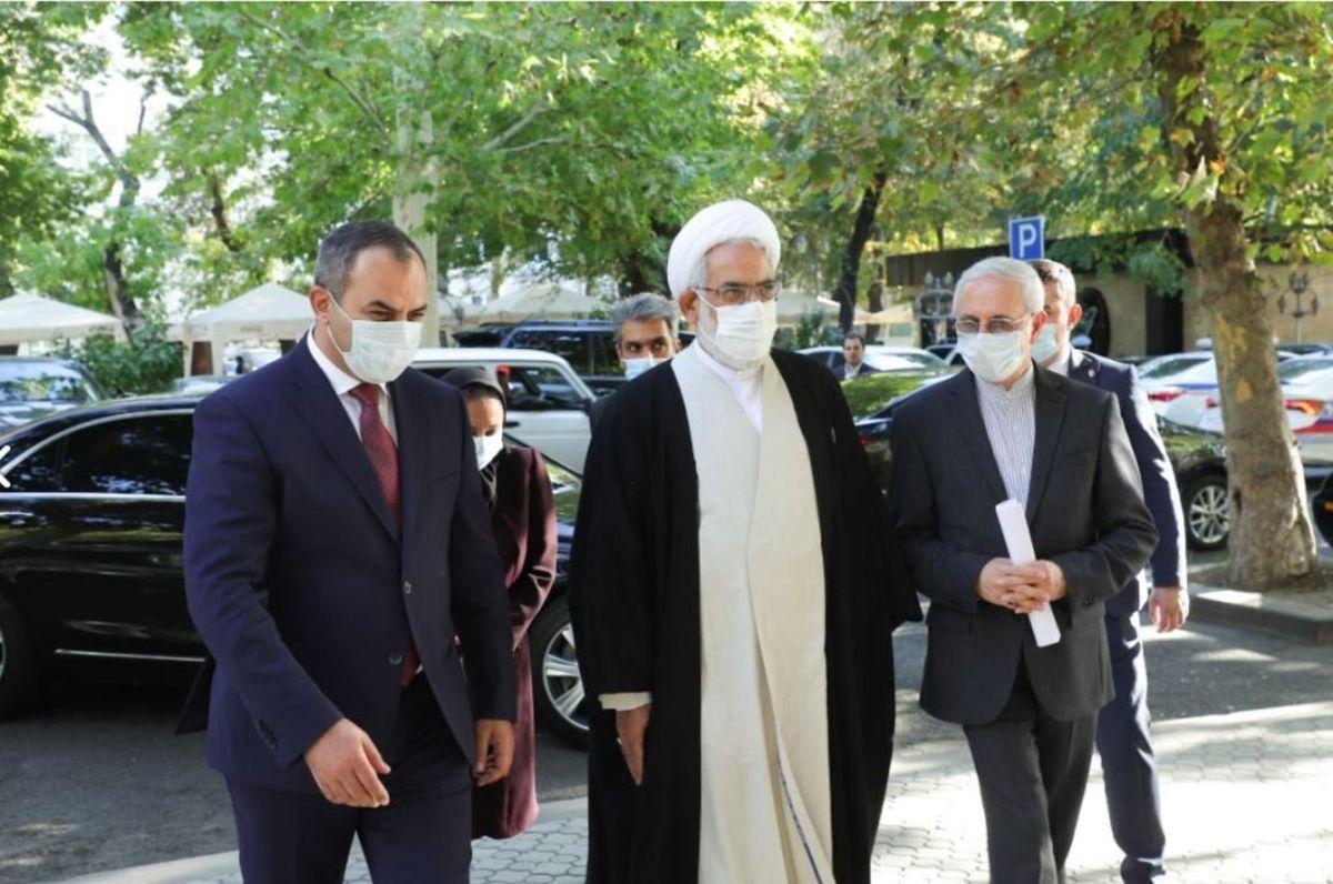 دادستانهای کل ایران و ارمنستان وضعیت رود ارس را بررسی کردند