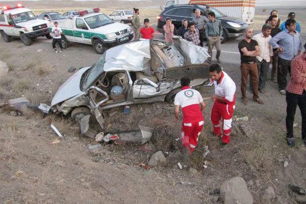 ۴۲۷ نفر در حوادث رانندگی آذربایجانشرقی جان باختند