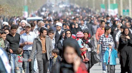 جمعیت ایران ۹۵ میلیونی میشود/ کاهش سکونت در روستاها