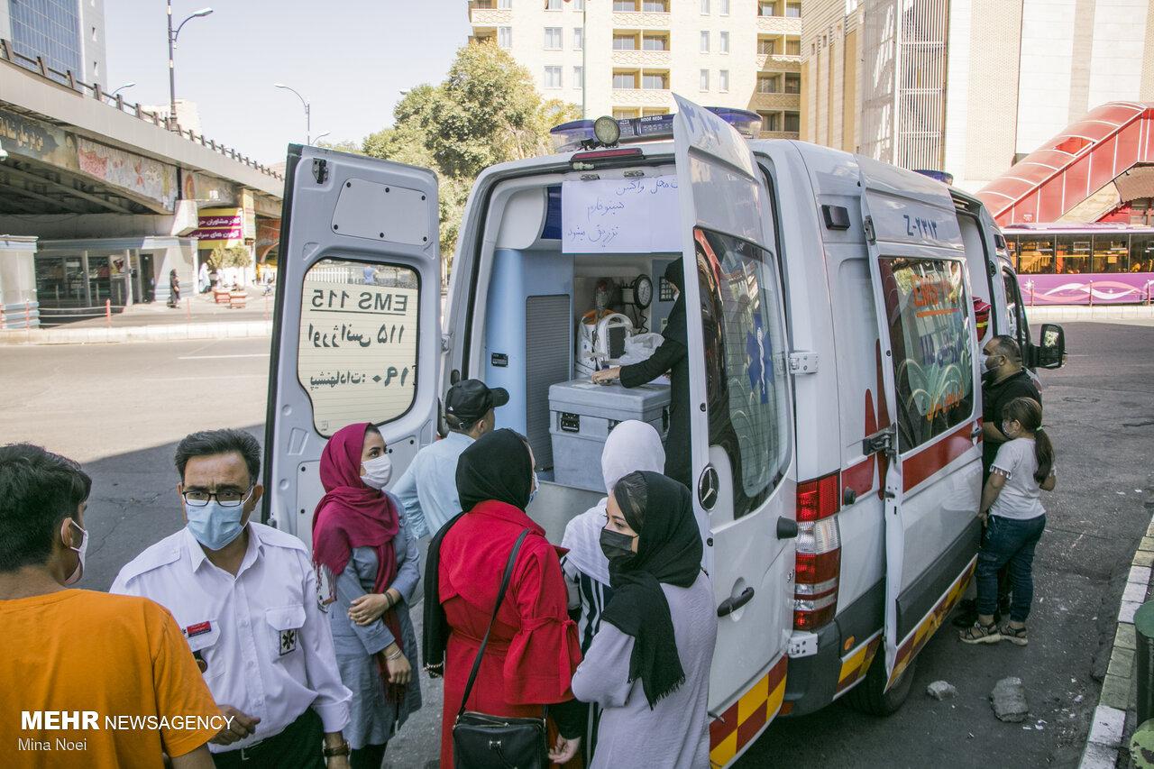 ۸۵ درصد از جمعیت بالای ۱۲ سال آذربایجانشرقی واکسن زدند
