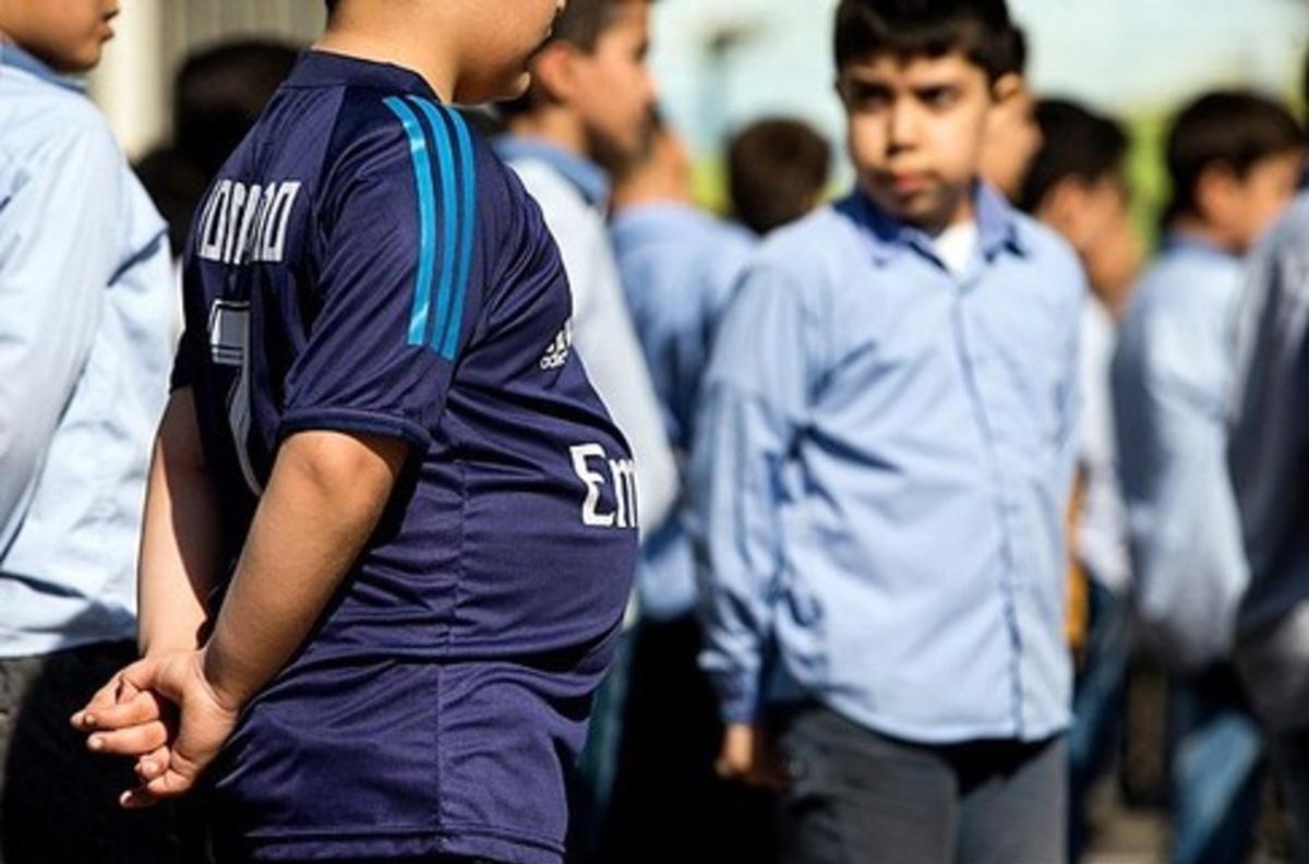 بیش از ۵ میلیون دانشآموز گرفتار اضافه وزن