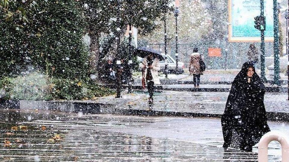 بارش باران و برف و کاهش دما از فردا در آذربایجانشرقی