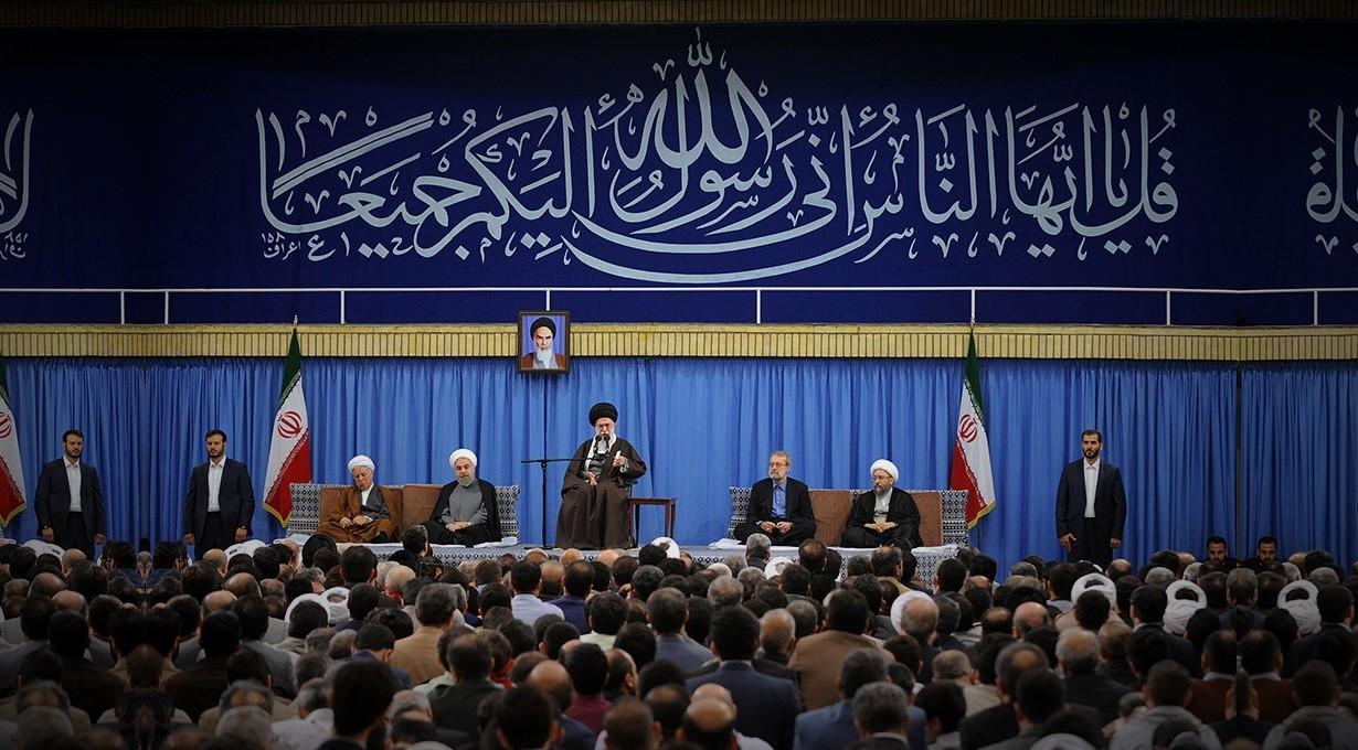 دیدار مسئولان وحدت اسلامى با مقام معظم رهبری