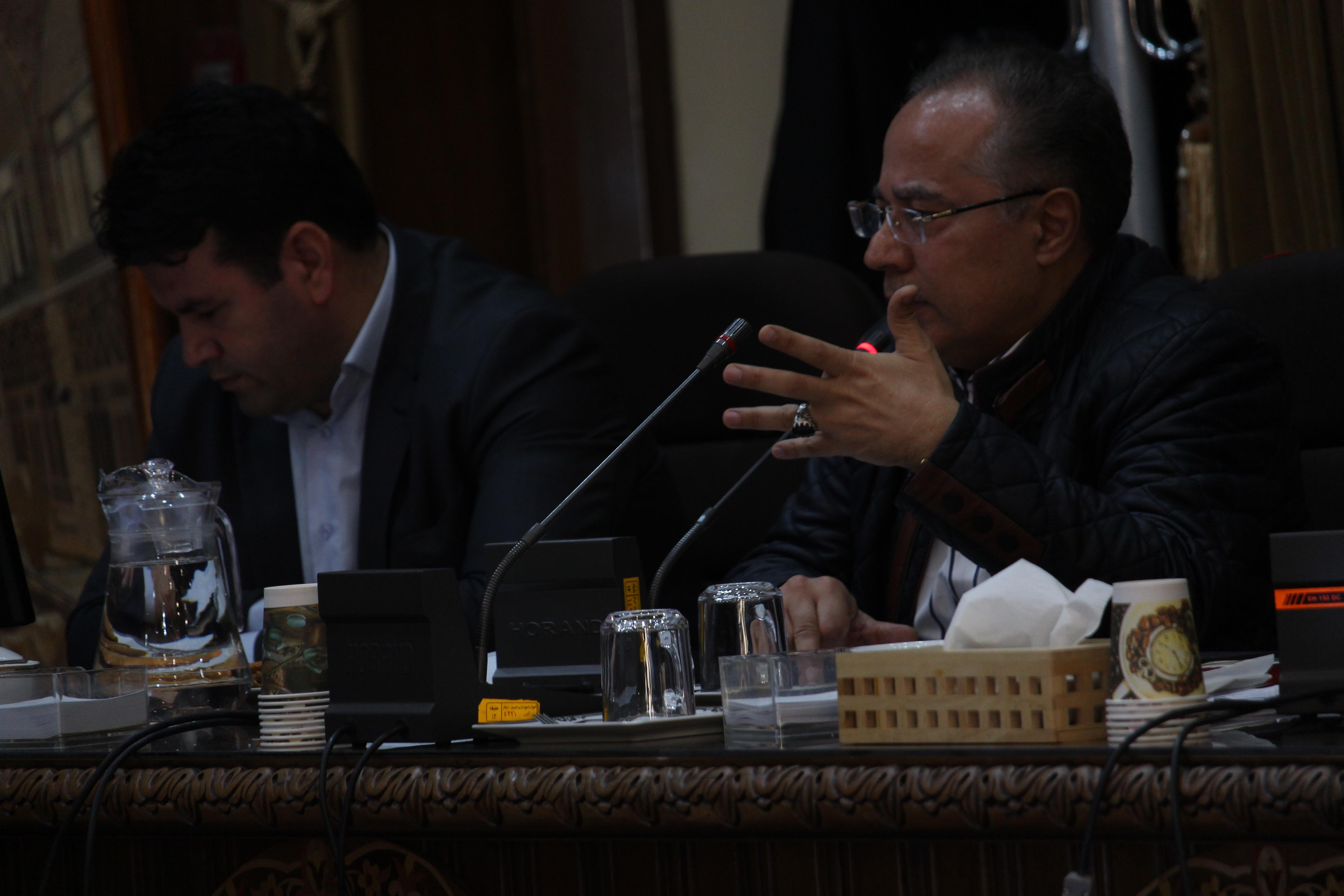 گزارش تصویری از جلسه شورای شهر تبریز