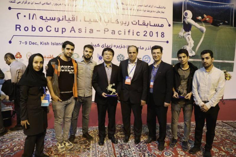 سمای آذربایجانشرقی در مسابقات ربوکاپ آسیاو اقیانوسیه دوم شد