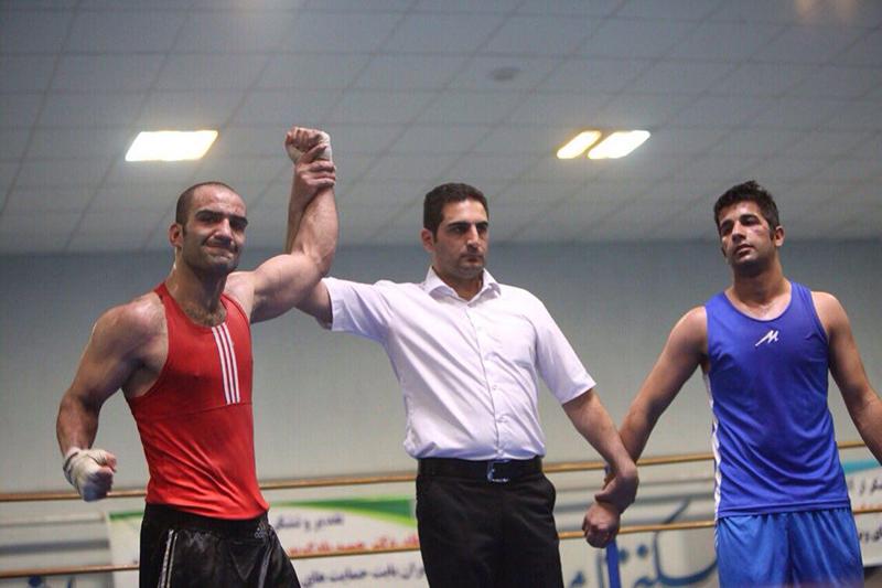 نخستین طلای بوکس زنجان در رقابت های انتخابی تیم ملی کسب شد
