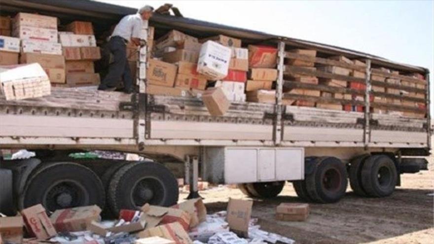 4 کامیون لوازم منزل قاچاق در خوی کشف شد