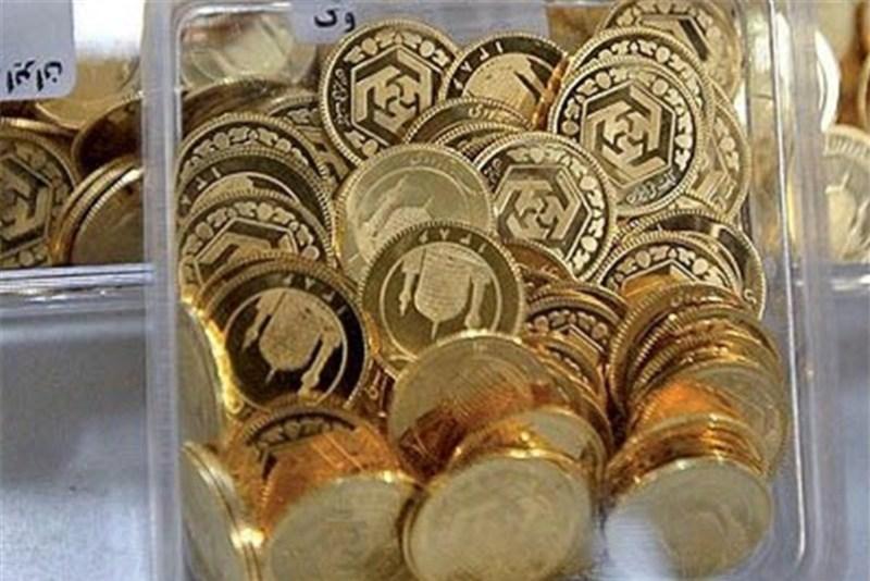 بهای سکه تحت تاثیر افت قیمت ارز کاهش یافت
