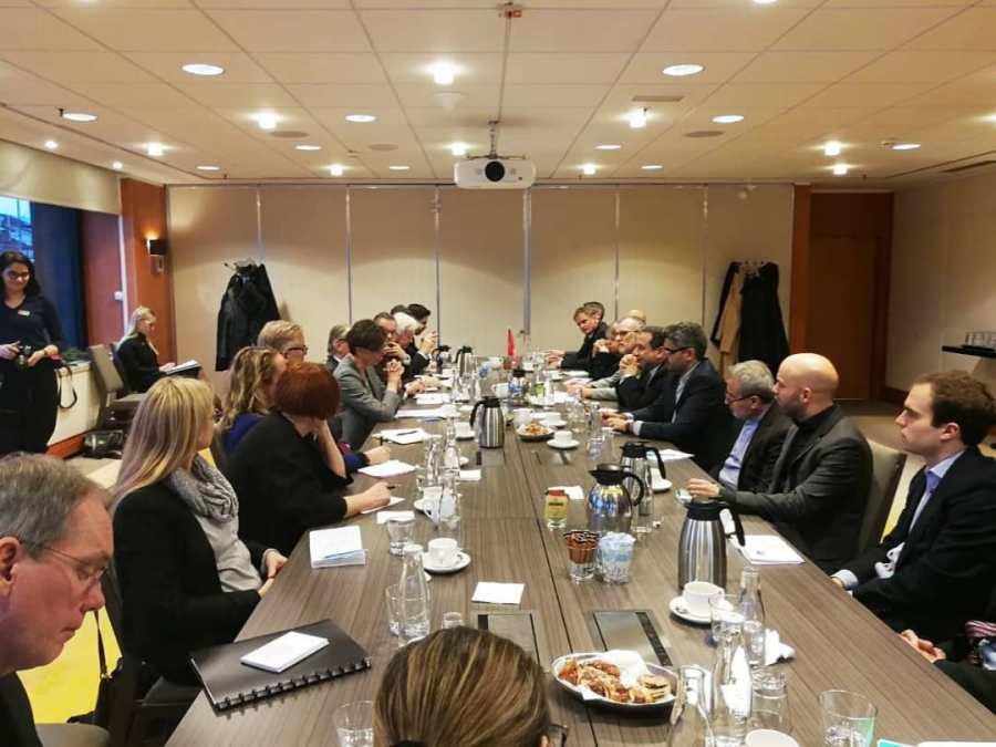 وزیرخارجه سوئد: برای گسترش روابط تجاری باایران تلاش می کنیم