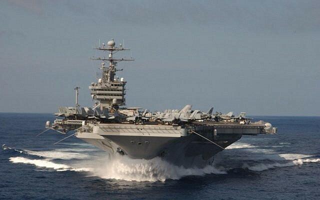 جزئیاتی از اقدامات کشتیهای سپاه در محدوده ناو آمریکایی استنیس