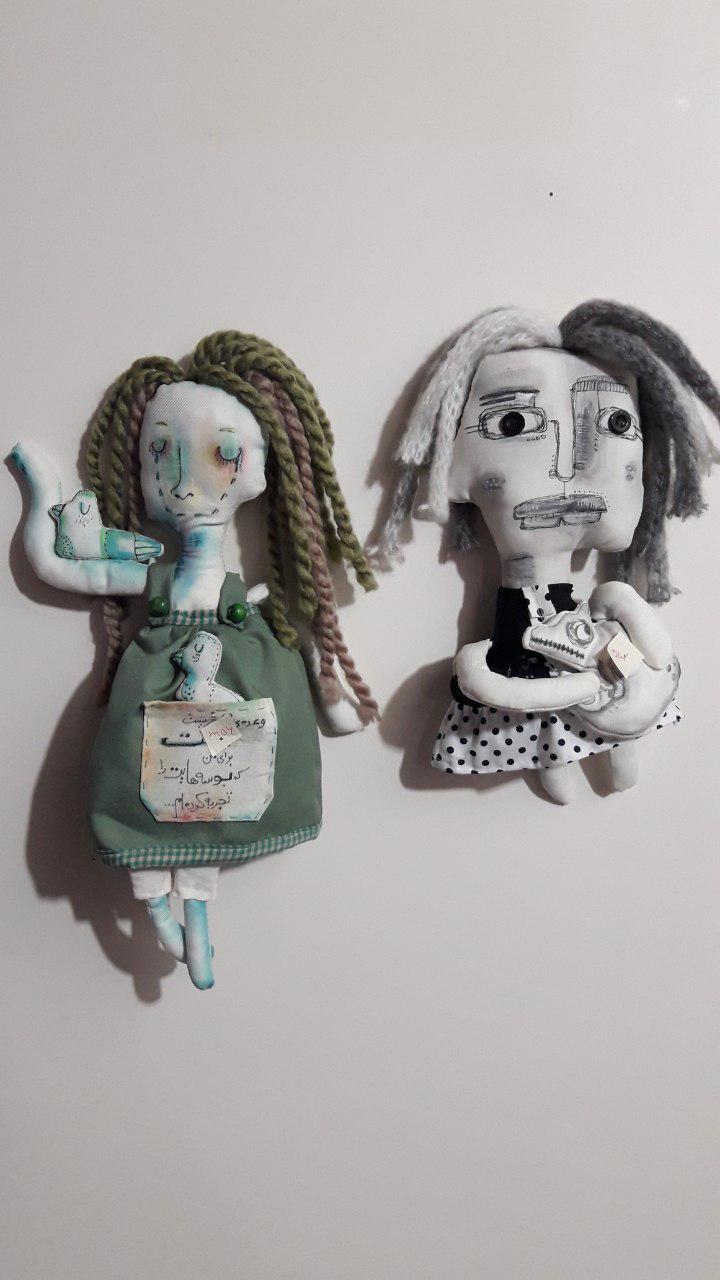 عروسکهایی که «جانِ مریم»اند