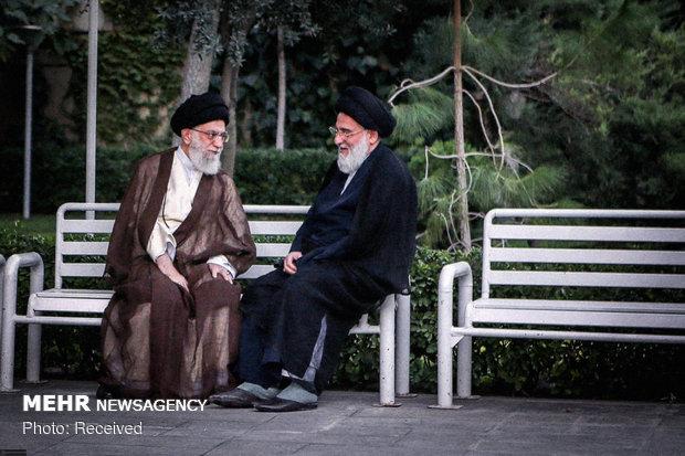 عکس هایی دیده نشده از رهبر انقلاب و مرحوم آیت الله هاشمی شاهرودی