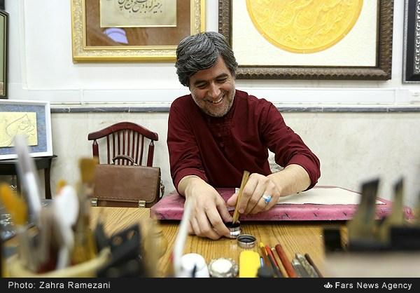 «برجسته های عاشقانه» استاد داود نیکنام در تبریز