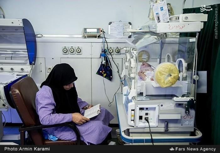 تمام زندگی این زنان، یک تخت بیمارستان است