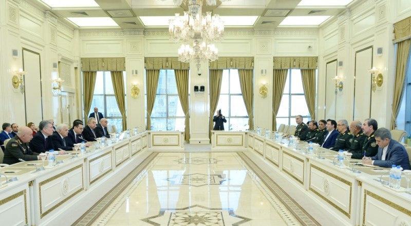 سردار باقری با رئیس مجلس جمهوری آذربایجان دیدار کرد