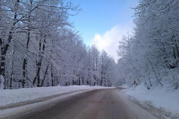 وقوع برف و کولاک در ۷ استان
