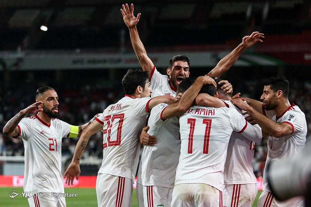 تحسین قدرت تیم ملی در جام ملت های آسیا