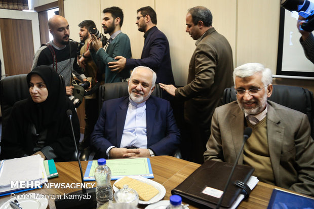 حضور «ظریف»، «همتی» و «جنیدی» در جلسه مجمع تشخیص مصلحت نظام