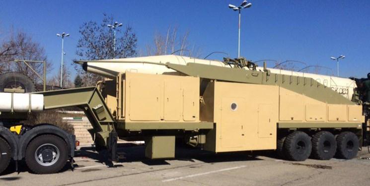 12 فروند موشک بالستیک ایرانی در معرض دید عموم قرار گرفت