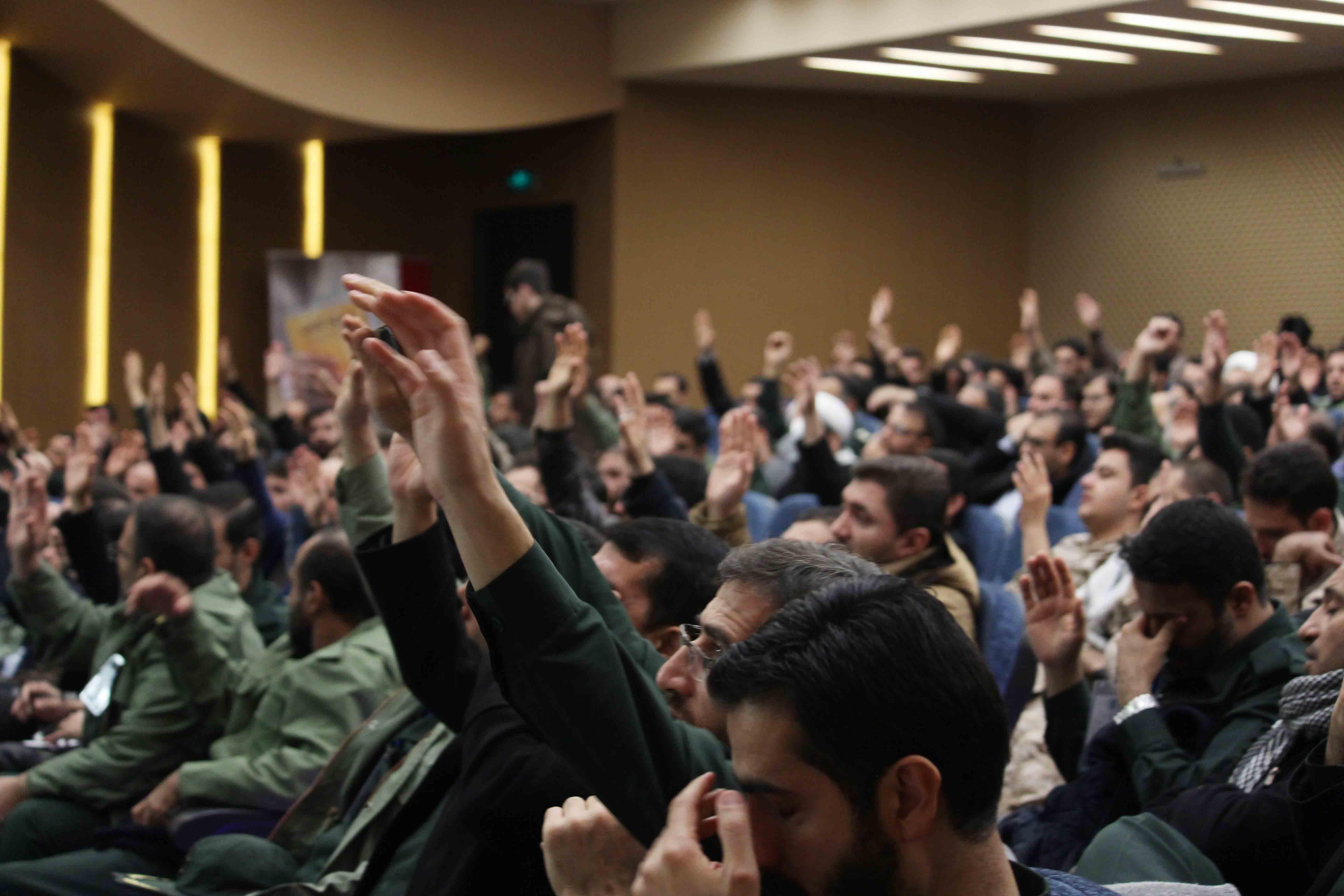 افتتاح کنگره فرهنگ و هنر سپاه