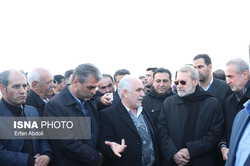 بازدید رئیس مجلس از بزرگراه «تبریز - هریس - اهر»