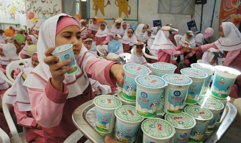 توزیع «شیرهای مدارس» در فروشگاهها