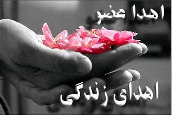 برپایی غرفه اهدا عضو در شهرک فاطمیون تبریز