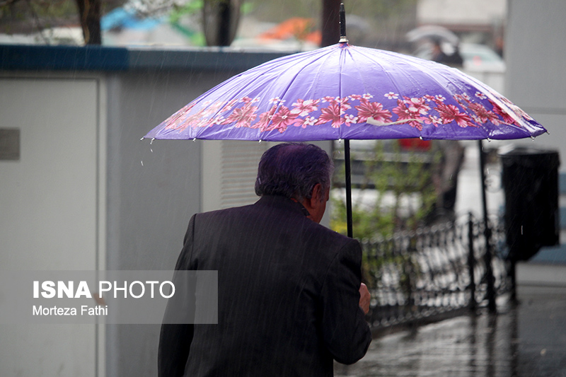 نفوذ سامانهی بارشی فعال از روز پنج شنبه به استان