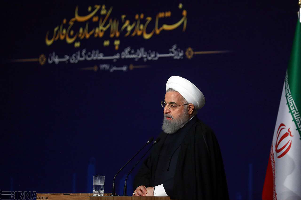 رییس جمهوری :ملت ایران در مسیر خودکفایی قرار گرفته است