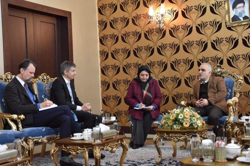 اعلام آمادگی سوئیس برای توسعه همکاری ها با ایران