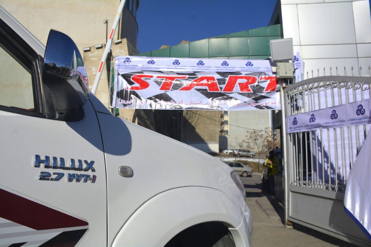 مسابقات اتومبیلرانی دو دیفرانسیل قهرمانی کشور در تبریز آغاز شد