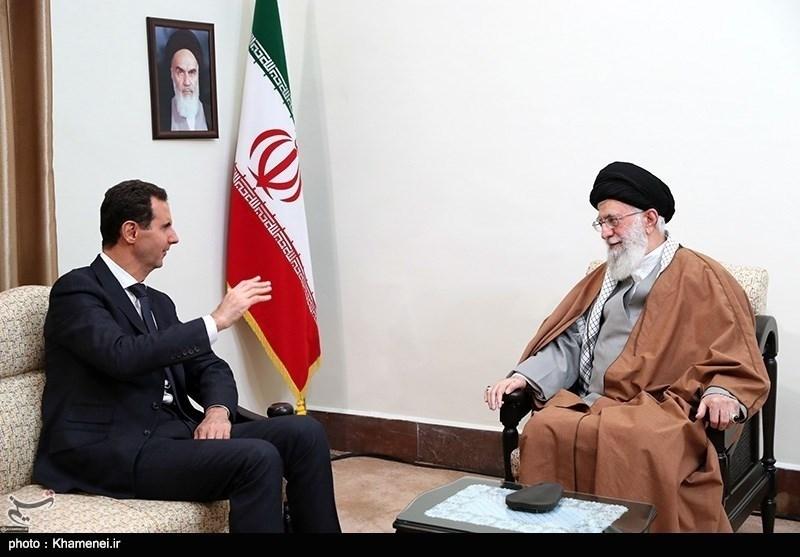 سفر بشار اسد به تهران ضربه دردناکی به پیمان آمریکا،صهیونیستها و اعراب وارد کرد